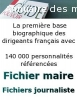 Fichier maire de France disponible en ligne