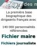 Fichier maire de France disponible en ligne